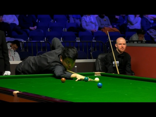 Liang Wenbo 梁文博 v Robbie Williams R3 Welsh Open 2018