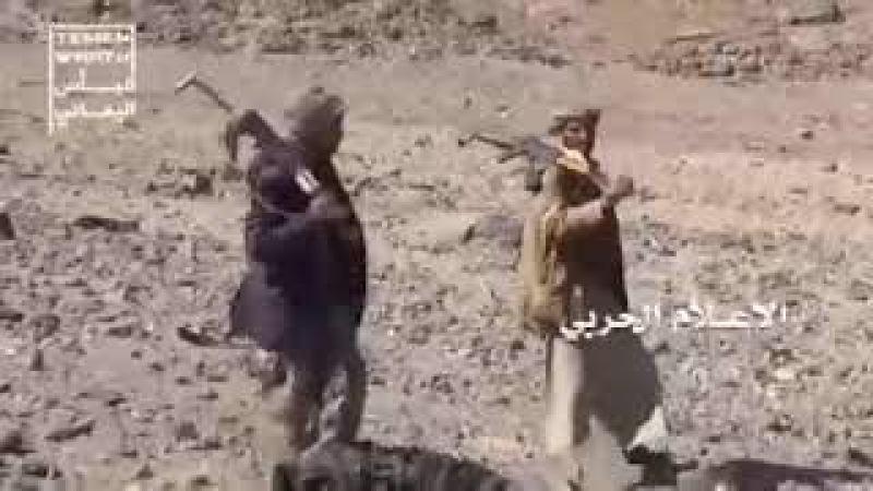 Regardez la chute du chasseur Tornado saoudien près de Saada