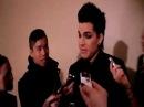 Adam Lambert at G-Star Raw Fall 2010 .MOV