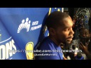 DURANT, postgame GSW-ORL: ejection, Steph Curry's approach/finger, shot-blocking, Jordan Bell