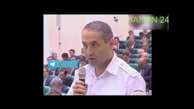 JAHON 24 ПРЕЗИДЕНТ МИРЗИЁЕВ Прокурорга бир ой мухлат берди Подполковникни куролма...