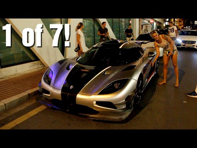 Girl driving a 1360HP Koenigsegg One:1 (revs accelerations)