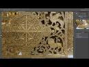 Резьба по векторам в ArtCAM 2011 гравировка с 3d подрезкой уголков гравировка по средней линии