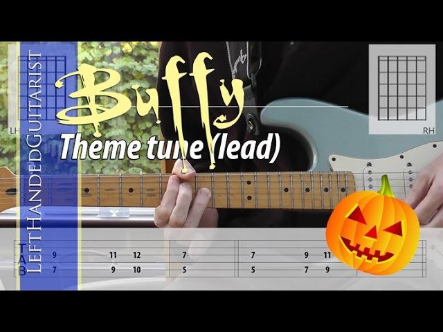 Buffy the Vampire Slayer theme guitar tabs