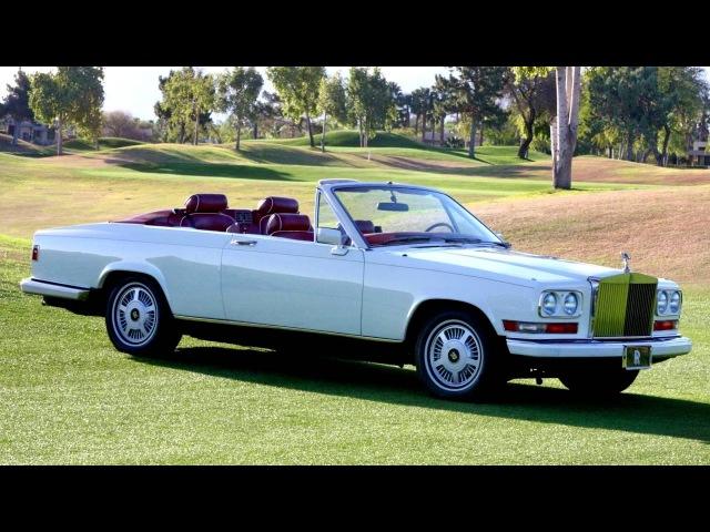 Rolls Royce Camargue Retractable Hardtop by Niko Michael Coachworks '1987
