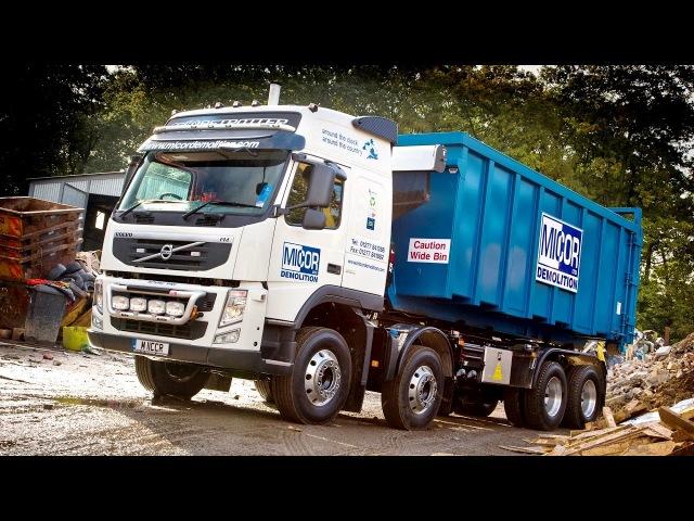 Volvo FM 380 84 rigid Globetrotter cab with Multilift RO RO body UK spec 2010 13