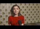 "Stranger Things: Season 2: Natalia Dyer ""Nancy Wheeler"" Comic- Con 2017 Interview"