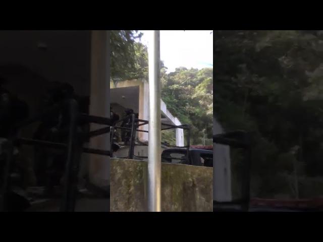 Exército desse de rapel na Rocinha Hoje