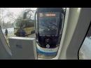 Трамвай Витязь М маршрут 35 Новоконная площадь Нагатино вид сзади 9 02 2018