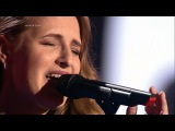 The Voice RU 2015 Karina Autumn Leaves Blind Auditions Голос 4. Карина Цветкова. СП