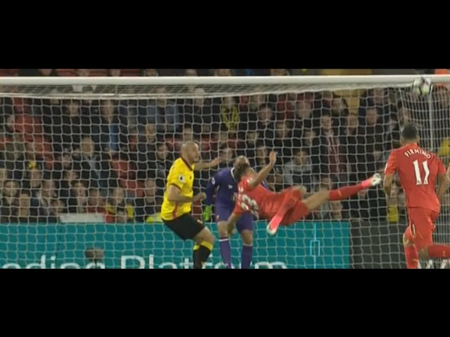 Фантастический гол Эмре Джана в ворота Уотфорда