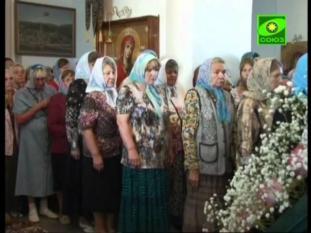 Престольн. праздник в Седмиезерной пустыни Татарстана