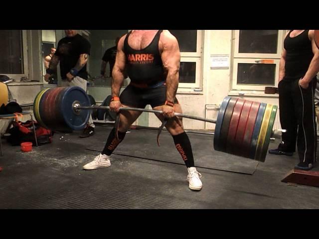 Zahir Khudayarov 350 x 3 RAW Dedlift