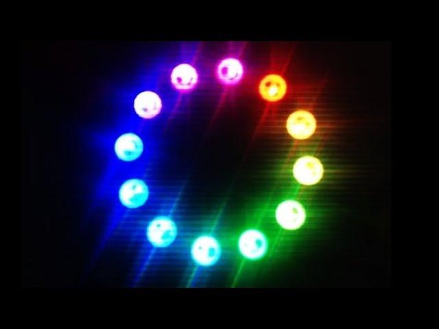 Cool Homemade RGB L E D Ring Chasing Leds