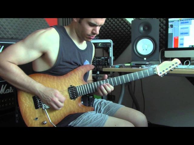 Alice Cooper/Joe Satriani - Burning Our Bed SOLO | AxeFx II XL | fw19