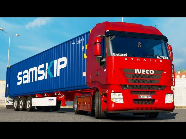 ETS2 1.30 ProMods 2.26 IVECO Stralis AS2 Plymouth - Cardiff