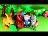 Прыг-Скок- песенка для детей. Какие животные умеют прыгать Пластилиновый мультфильм