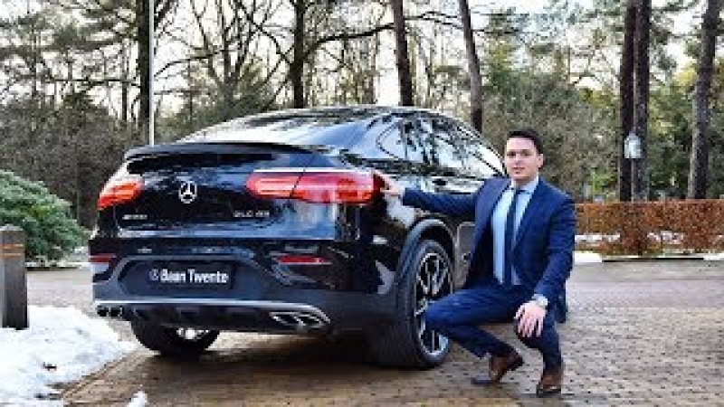 2018 Mercedes AMG GLC 43 Coupe 4MATIC BRUTAL Drive Review Sound Acceleration Exhaust