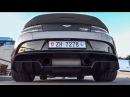 1 of 1 Aston Martin GT12 Roadster in Switzerland - LOUD Start up Lovely Revs! Brutal Sounds