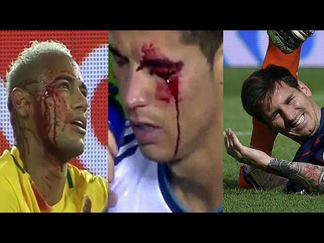 Players Hunting on Neymar Lionel Messi Cristiano Ronaldo ● Horror Fouls Tackles HD