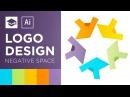 Negative Space Logo Design Tutorial Adobe Illustrator