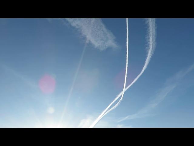 Смерть в Небе Руси Опыление Гоев Ядами 20 03 2018 Химические Сероводородные Подарки Яхве 666