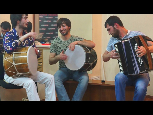 Кавказские мелодии ASA STYLE и DAROKO RAMI ( доул,гармошка 2017)