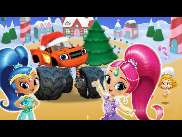 Christmas Festival Games Online Shimmer and Shine Bubble Guppies