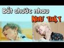 [ BTS funny moments 9] Bắt chước nhau như thật (Phần 1) = )(BTS imitating each other)