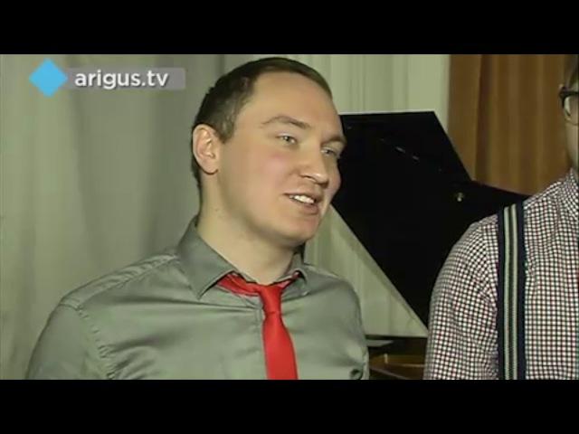 Репортаж ТВ о Artnovi Band