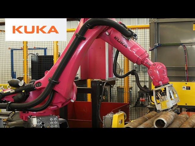 Fast Robotic Handling of Metal Tubes with KUKA Robot
