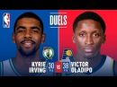 Kyrie Irving (30 Pts) and Victor Oladipo (38 Pts) Duel in Indiana | December 18, 2017