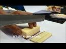 Pastel de queso con corte ultrasónico CHEERSONIC
