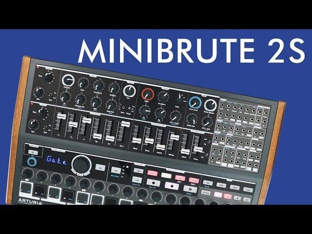 Arturia MiniBrute 2S — First look!