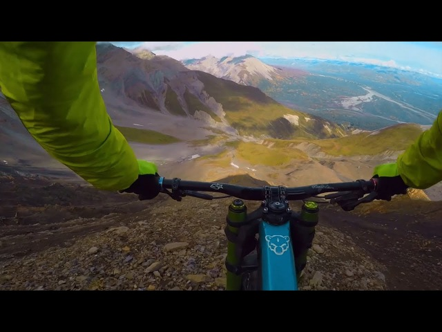 Downhill lines don't get more remote than this: Riding the Tatshenshini