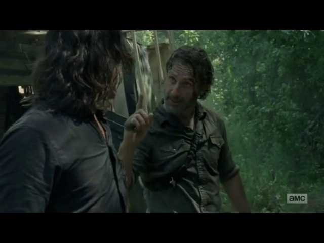 The Walking Dead 8x05 Daryl Fights Rick Дэрил Диксон Ходячие мертвецы 8 5 новый сезон