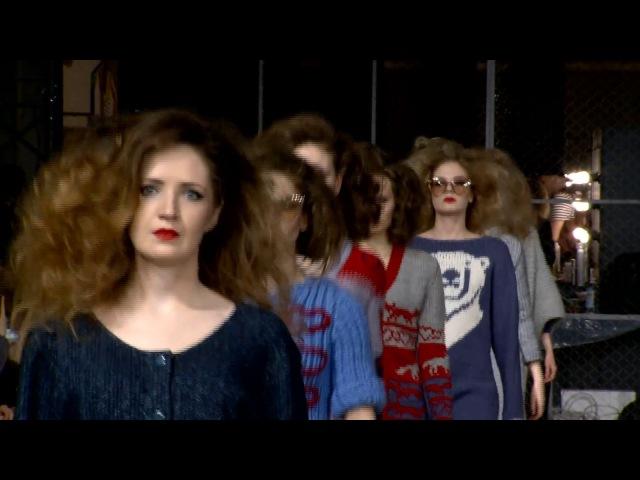 Наши модели на Mercedes-Benz Fashion Week Russia показ коллекция emmy_bonda модели sigmascouting_rzn