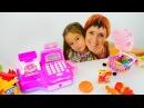 Лучшие видео youtube на сайте main-host Супермаркет ИГРУШКИ. Свинка Пеппа, Барби, Самолеты. Маша и Джейлин играют в М