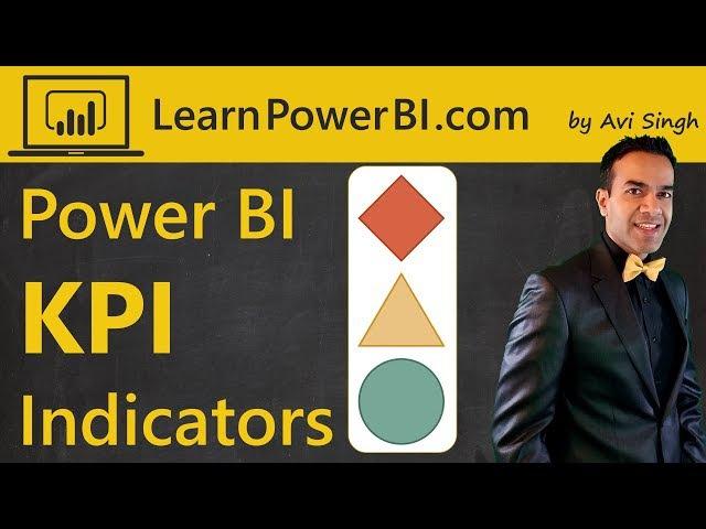 Power BI KPI Indicator Excel Icon Sets Part 1 of 3