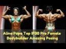 Alina Popa Top IFBB Pro Female Bodybuilder Amazing Posing   LetsFit Motivation