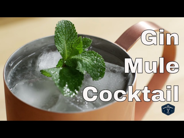 Gin Mule Cocktail || Le Gourmet TV Recipes
