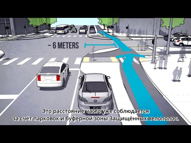 Защищённые Перекрёстки для велосипедистов