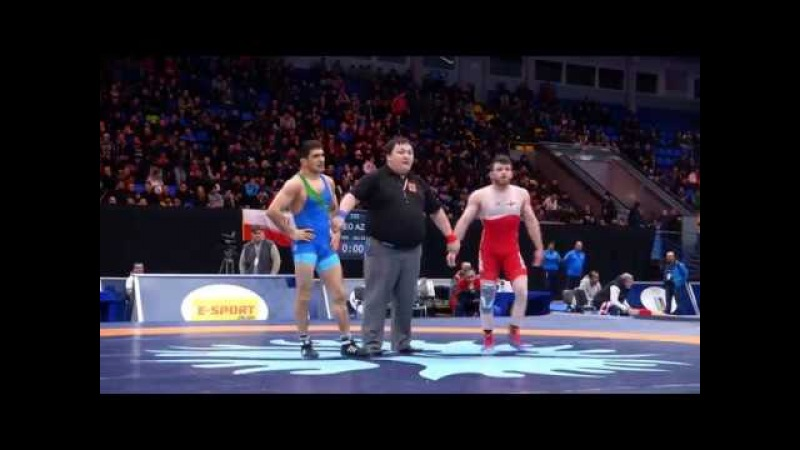 Beka LOMTADZE GEO ALIYEV GALIB AZE Final 61 kg 2018 Kiev смотреть онлайн без регистрации