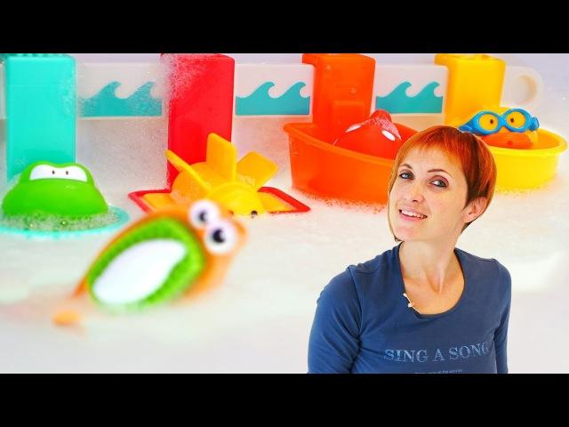 Видео про игрушки - Маша Капуки и зима в ванной