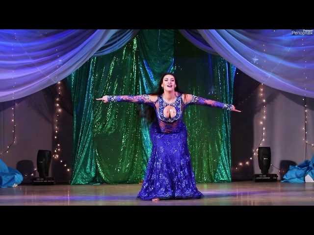 Valeriia Bakurova Iragi - shaabi dance ( Gala show Rakhat Lukum Festival 2018 )
