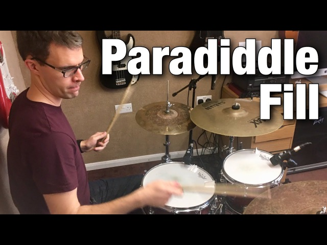 Paradiddle Fill   Drum Lesson by Dex Star