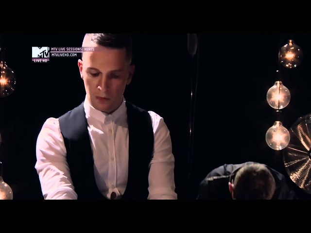 Hurts Confide In Me _ mtv live sessions HD