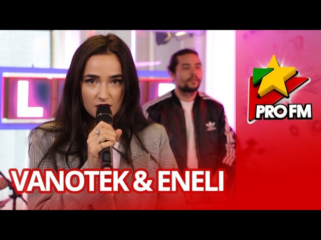 Vanotek feat Eneli Back to Me ProFM LIVE Session