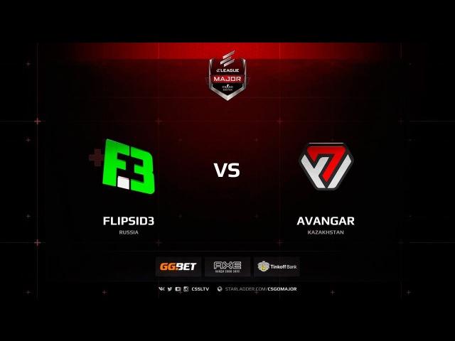 FlipSid3 vs. AVANGAR @ de_train