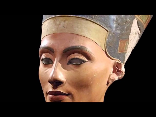 Новое царство бюст Нефертити работы Тутмоса